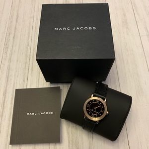 🆕Marc Jacobs | Reily Leather Women's Watch